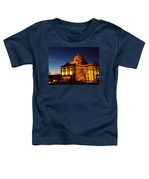 Courthouse At Night Toddler T-Shirt