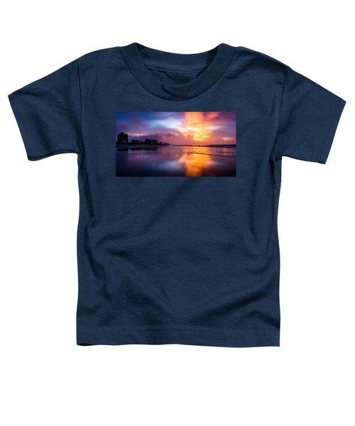 Crescent Beach Sunrise Toddler T-Shirt