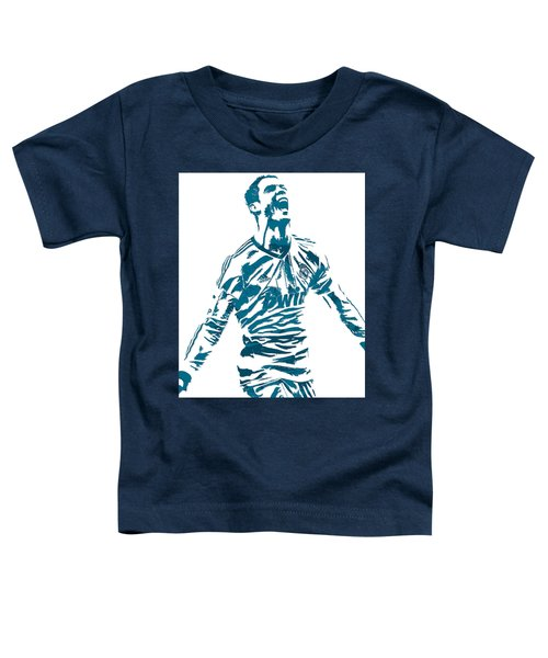 Cristiano Ronaldo Real Madrid Pixel Art 4 Toddler T-Shirt