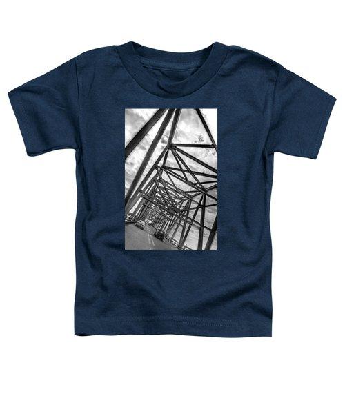 Crossing Through The Chesapeake Bay Bridge Toddler T-Shirt
