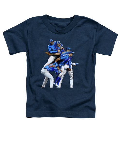 Cubs Win Toddler T-Shirt