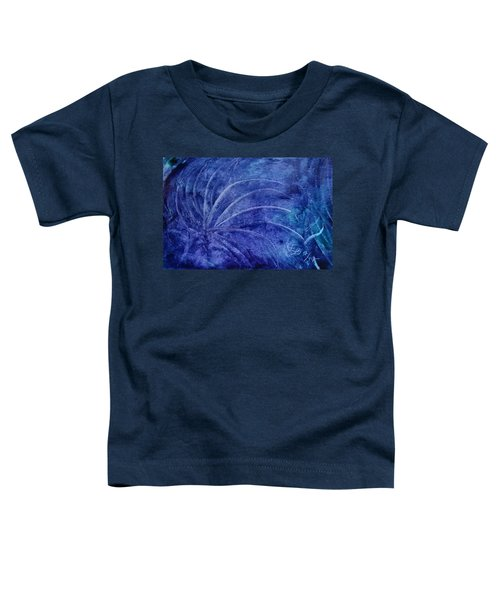 Dark Blue Abstract Toddler T-Shirt