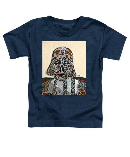 Darth Vader Star Wars Afrofuturist Collection Toddler T-Shirt