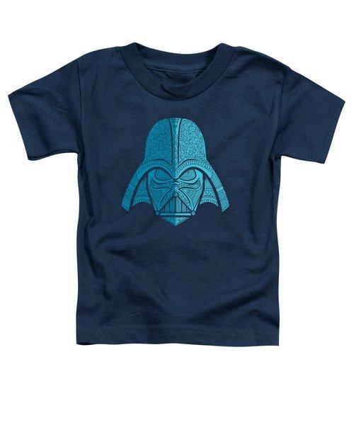 Darth Vader - Star Wars Art - Blue Navy Toddler T-Shirt