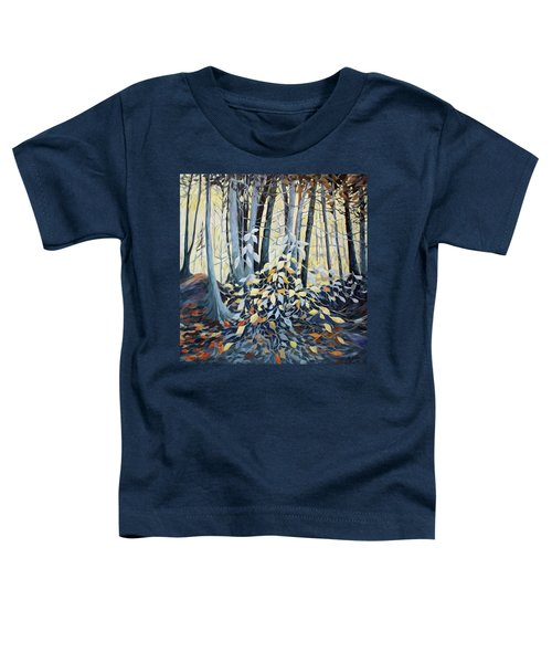Toddler T-Shirt featuring the painting Natures Dance by Joanne Smoley