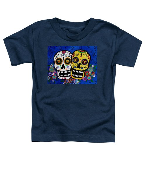 Day Of The Dead Sugar Toddler T-Shirt