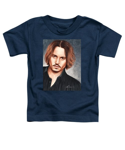 Depp Toddler T-Shirt by Bruce Lennon