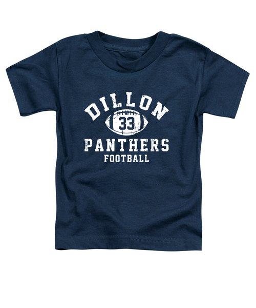 Dillon Panthers Football Toddler T-Shirt