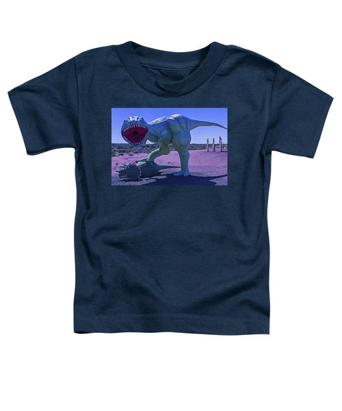 Dinosaur With Kill Toddler T-Shirt