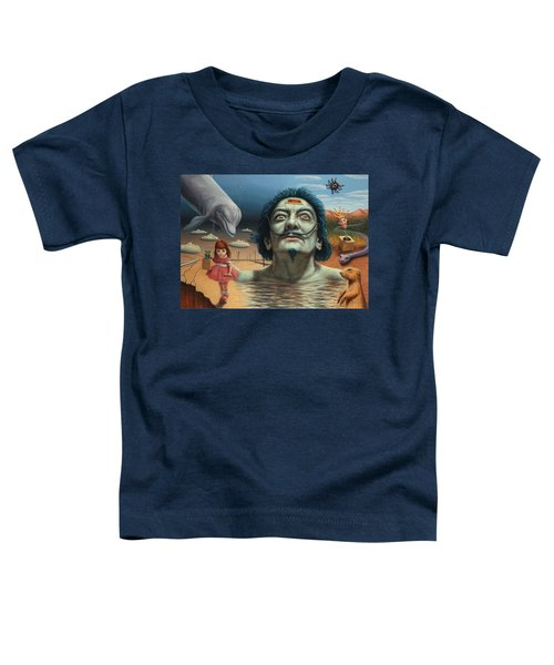 Dolly In Dali-land Toddler T-Shirt
