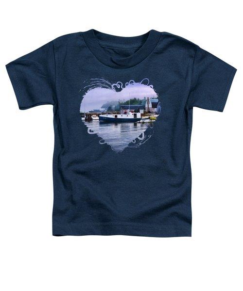 Door County Gills Rock Fishing Village Toddler T-Shirt by Christopher Arndt