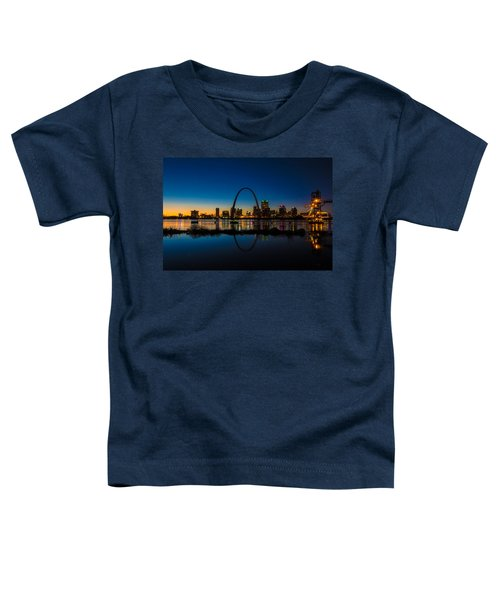 Downtown St. Louis And The Gateway Arch Toddler T-Shirt