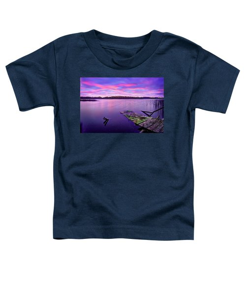 Dreamy Sunrise Toddler T-Shirt