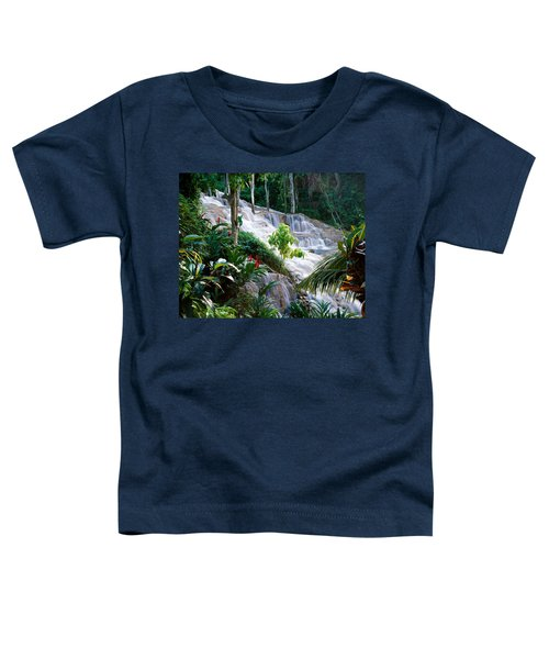 Dunn's River Falls Jamaica Toddler T-Shirt