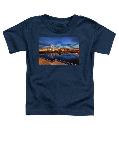 Dusk At The Zakim Bridge Toddler T-Shirt