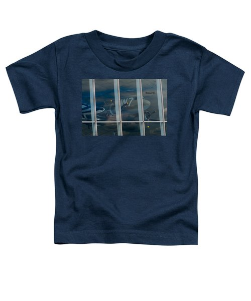 Toddler T-Shirt featuring the photograph Duxford Dakota Daydream by Gary Eason