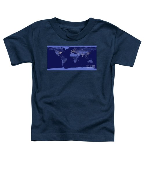 Earth From Space Toddler T-Shirt