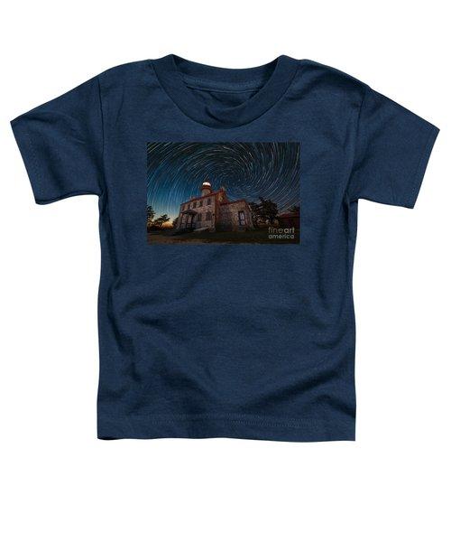 East Point Light Vortex Star Trails Toddler T-Shirt