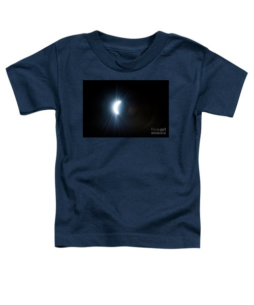 Eclipse Before Totality Toddler T-Shirt