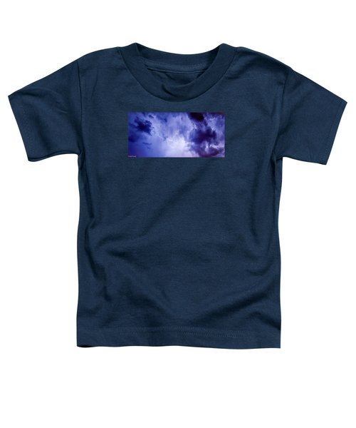 Electric Blue Toddler T-Shirt
