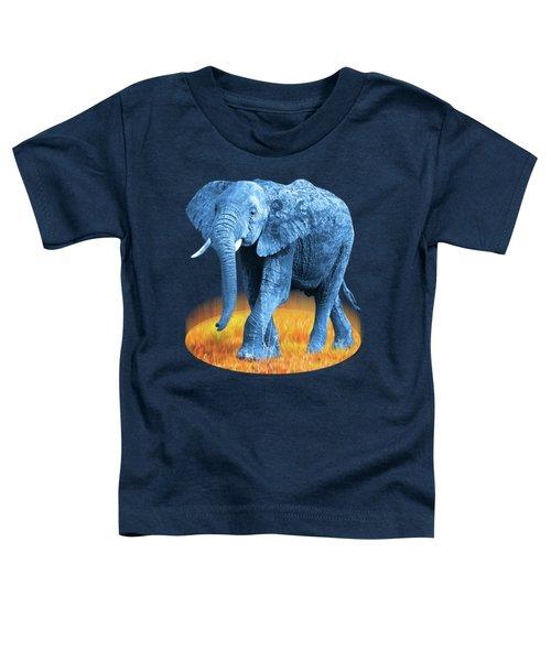 Elephant - World On Fire Toddler T-Shirt