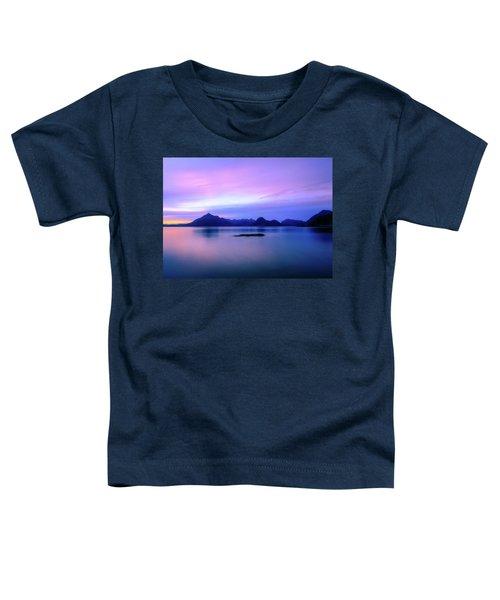 Elgol Sunset Toddler T-Shirt
