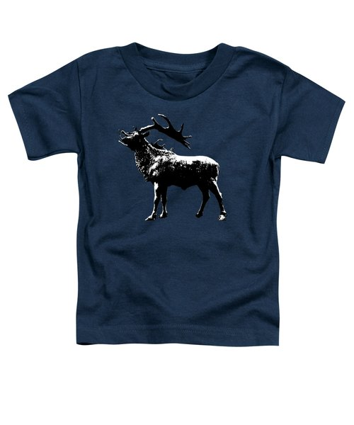 Elk Art Toddler T-Shirt
