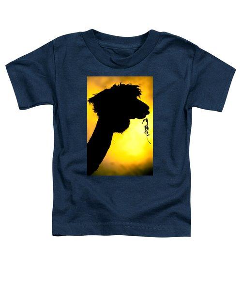 Endless Alpaca Toddler T-Shirt by TC Morgan