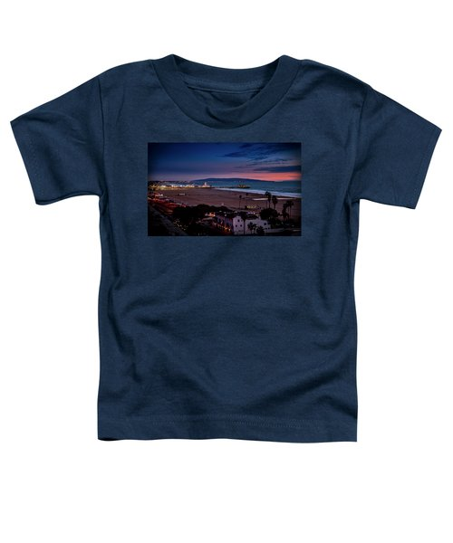 Evening Glow On The Pier Toddler T-Shirt