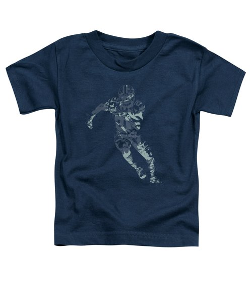 Ezekiel Elliott Cowboys Pixel Art T Shirt Toddler T-Shirt