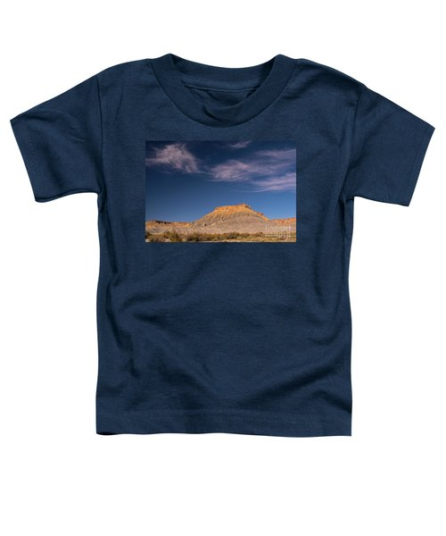 Factory Butte Utah Toddler T-Shirt