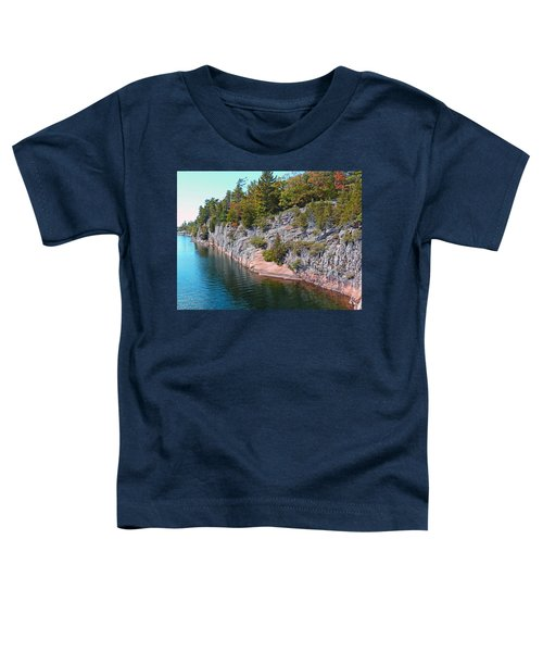 Fall In Muskoka Toddler T-Shirt