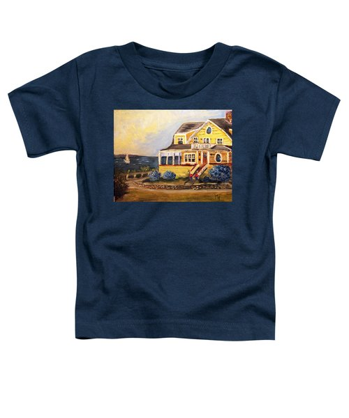 Falmouth Heights View Of Vineyard  Toddler T-Shirt