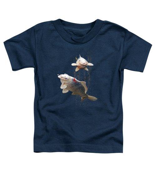 Feeding The Koi Toddler T-Shirt
