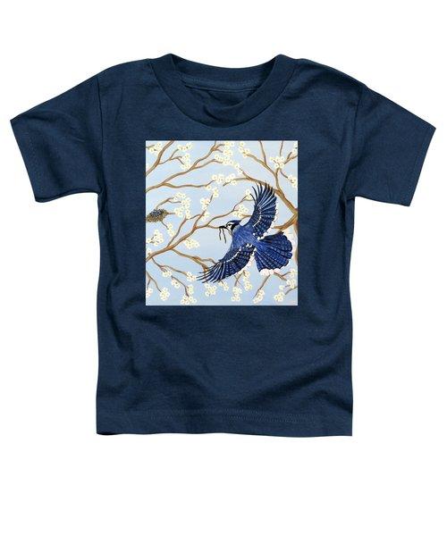 Feeding Time Toddler T-Shirt by Teresa Wing