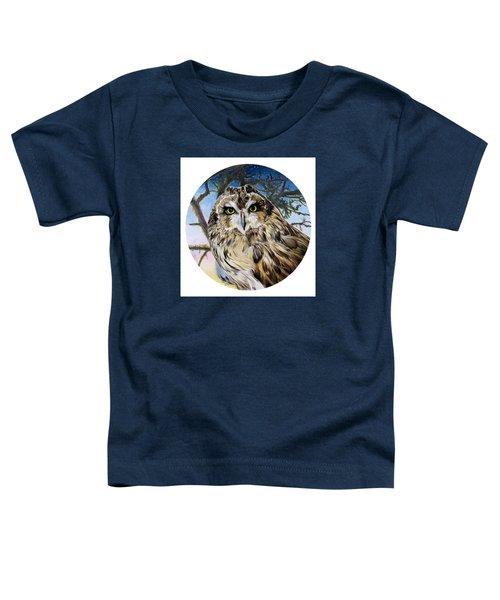 Da172 Fiery At Dusk Daniel Adams Toddler T-Shirt