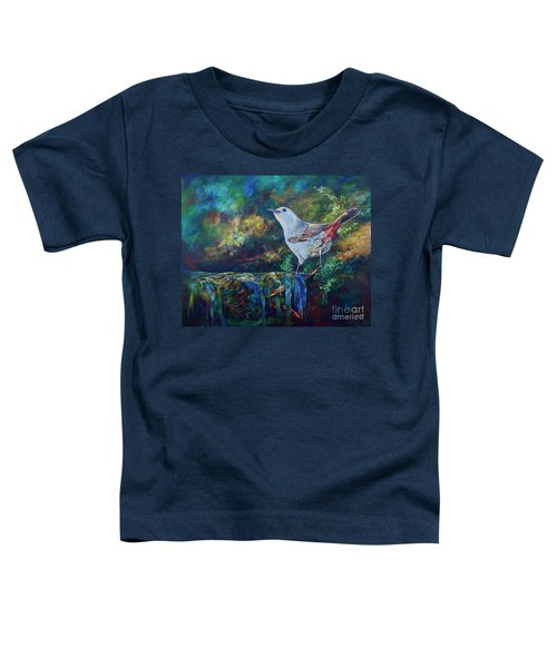 Gray Catbird Toddler T-Shirt
