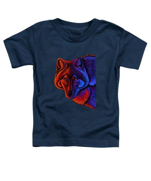 Fire Wolf Toddler T-Shirt