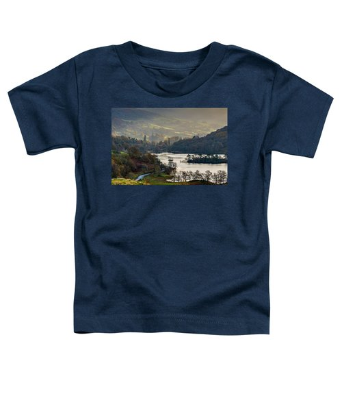 First Light Over Rydal Water In The Lake District Toddler T-Shirt