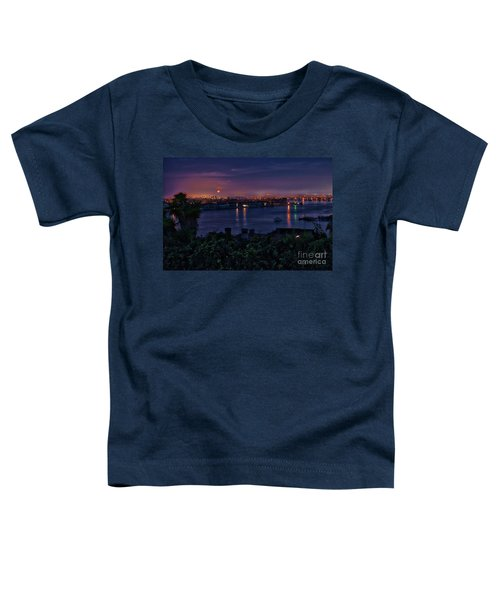 First Moonset Of 2018 Toddler T-Shirt