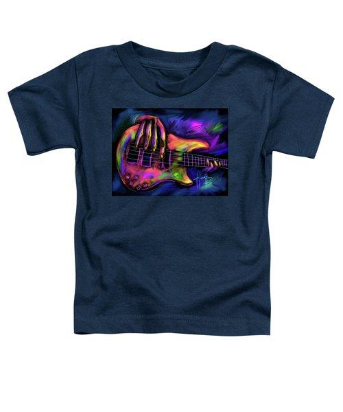 Five String Bass Toddler T-Shirt