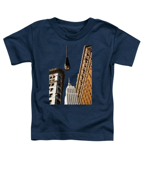 Flatiron District Toddler T-Shirt by Paul Lamonica