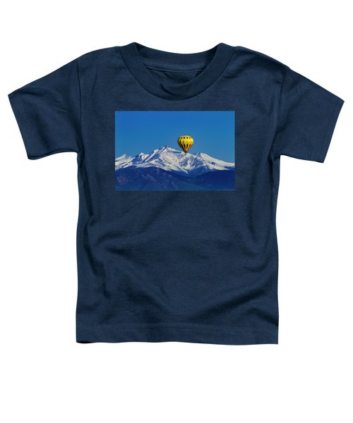 Floating Above The Mountains Toddler T-Shirt