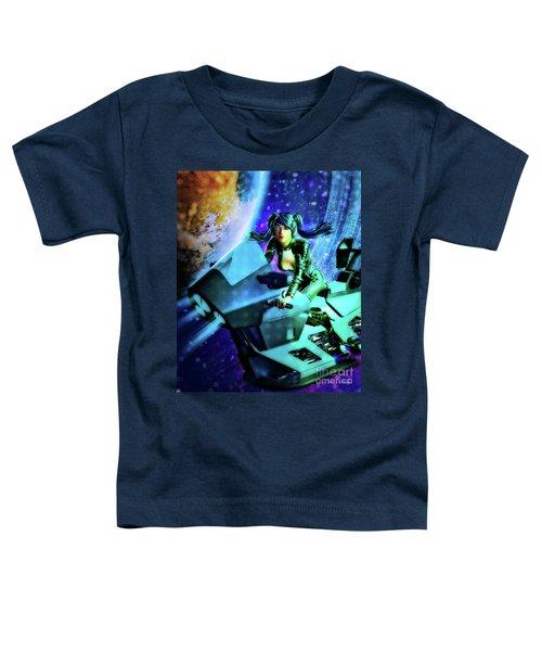 Flying Through Galaxies Toddler T-Shirt