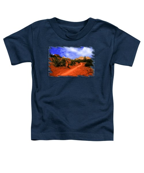 Follow Me Toddler T-Shirt by Mark Myhaver