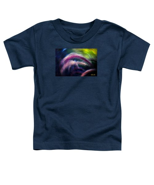 Toddler T-Shirt featuring the photograph Foxtails In Shadows by Rikk Flohr