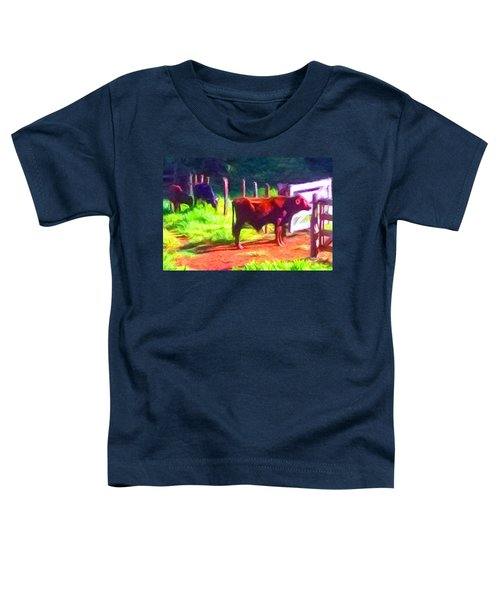 Franca Cattle 2 Toddler T-Shirt