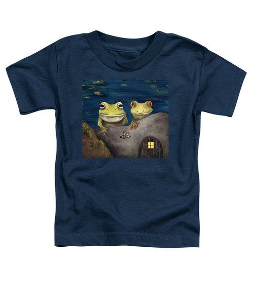 Frogland Detail Toddler T-Shirt