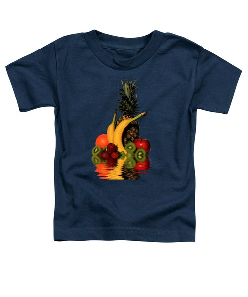 Fruity Reflections - Dark Toddler T-Shirt by Shane Bechler