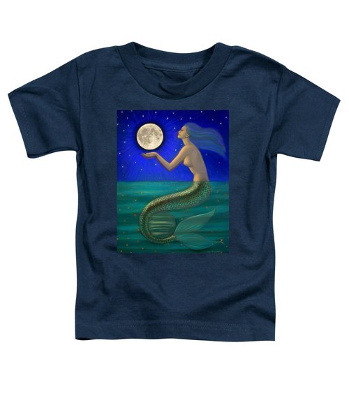 Full Moon Mermaid Toddler T-Shirt
